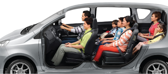 7-passenger Mode